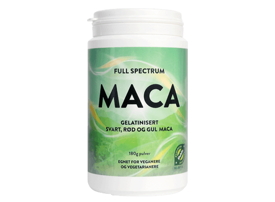 FULL SPECTRUM MACA - Naturens apotek