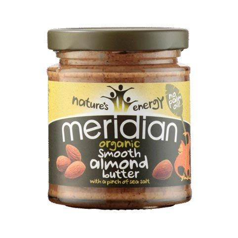 Meridian smooth almond butter 170 g - Naturens apotek