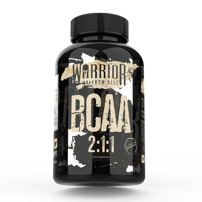 Warrior bcaa 2:1:1 60 tabs - Naturens apotek
