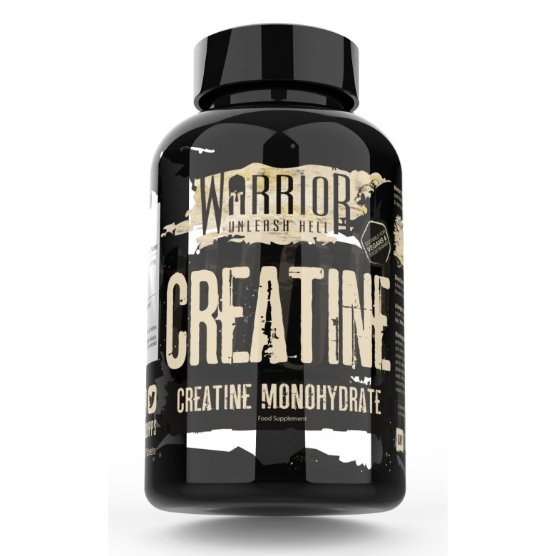 Warrior creatine 60 tabs - Naturens apotek