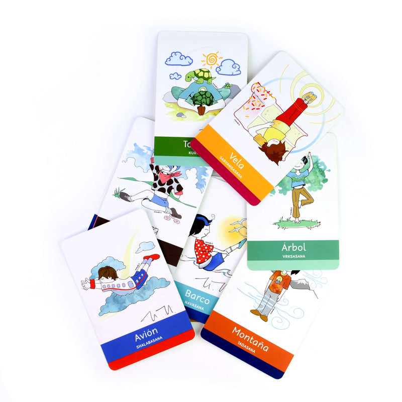 Kit Tarjetas Yoga Kids