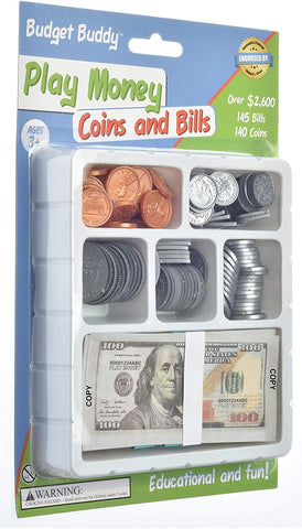 Small Play Money Set for Kids