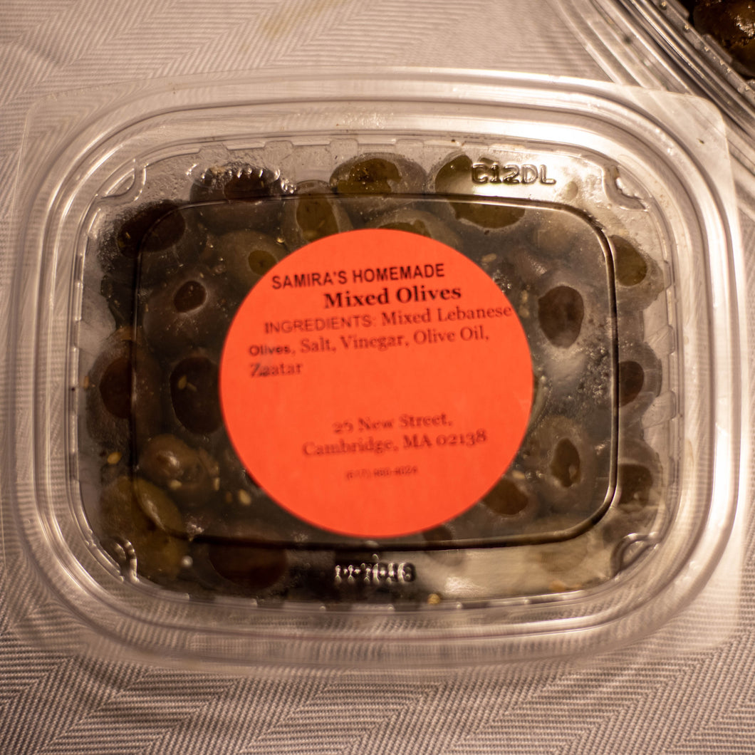 Za'atar Spiced Olives (Contains pits)