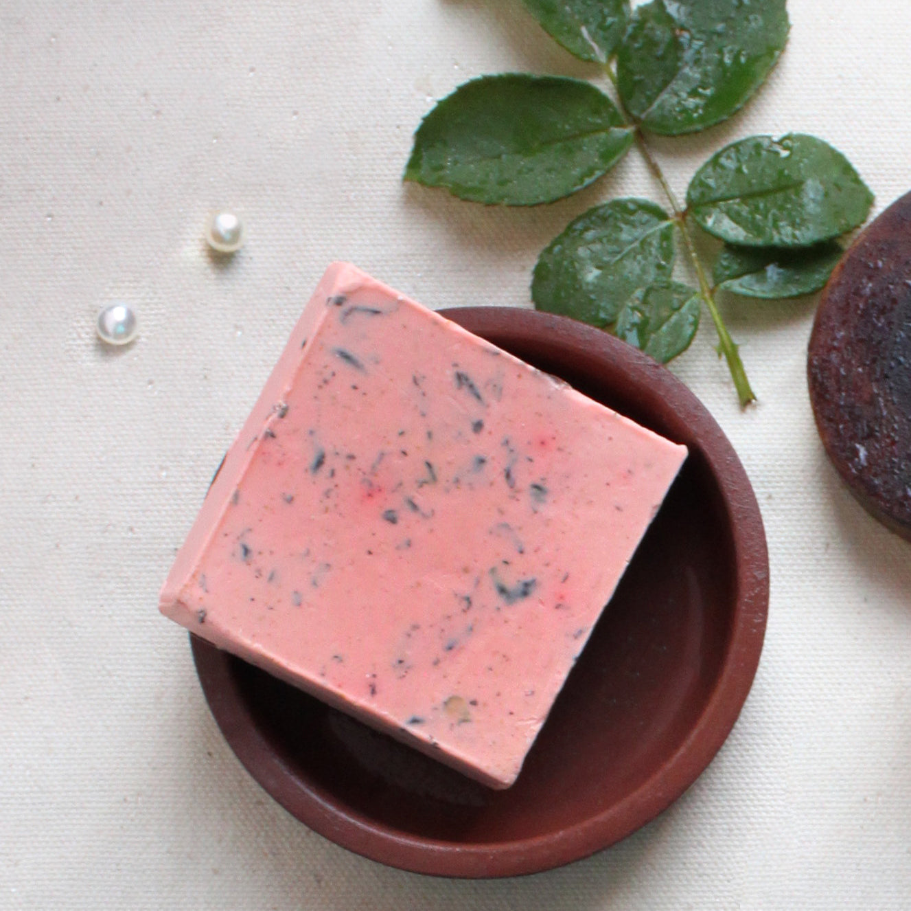 Rose Milk handmade soap