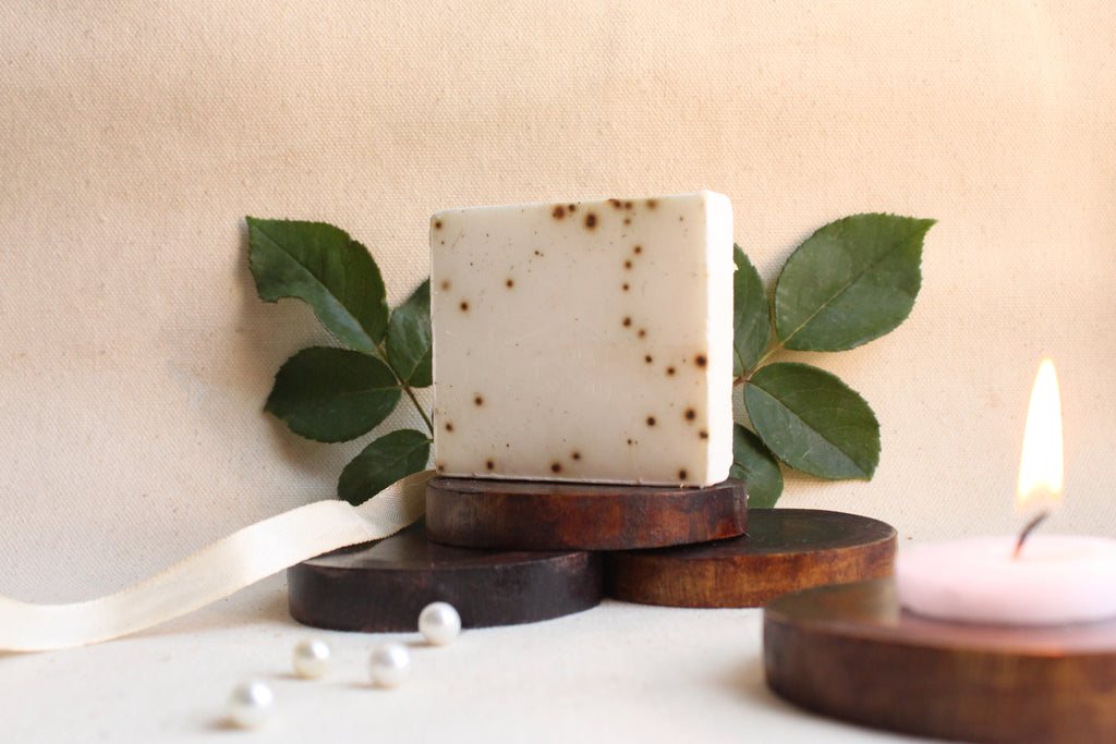 Mint & coconut handmade soap