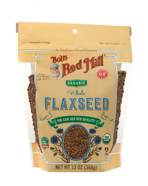 Load image into Gallery viewer, Organic Brown Flaxseed (13 oz)