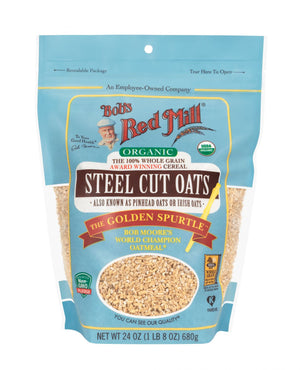 Load image into Gallery viewer, Organic Steel-Cut Oats (24 oz)