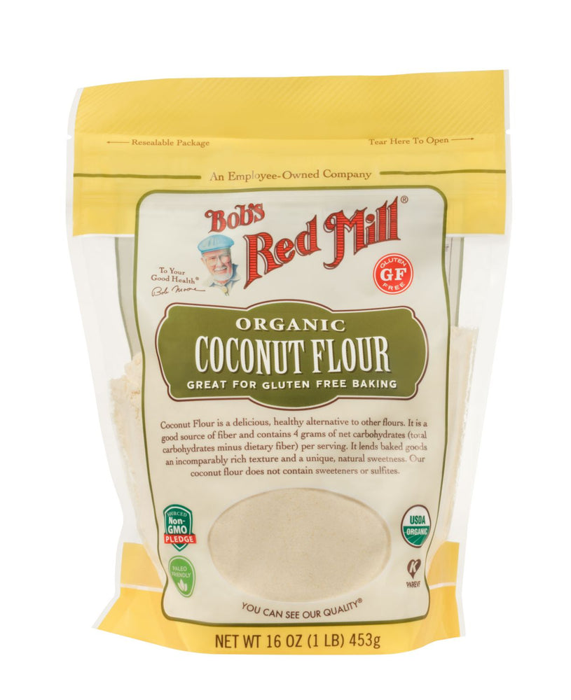 Load image into Gallery viewer, Gluten-Free Organic Coconut Flour (16 oz)