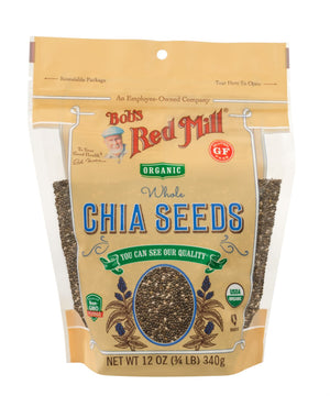 Load image into Gallery viewer, Organic Chia Seeds (12 oz)