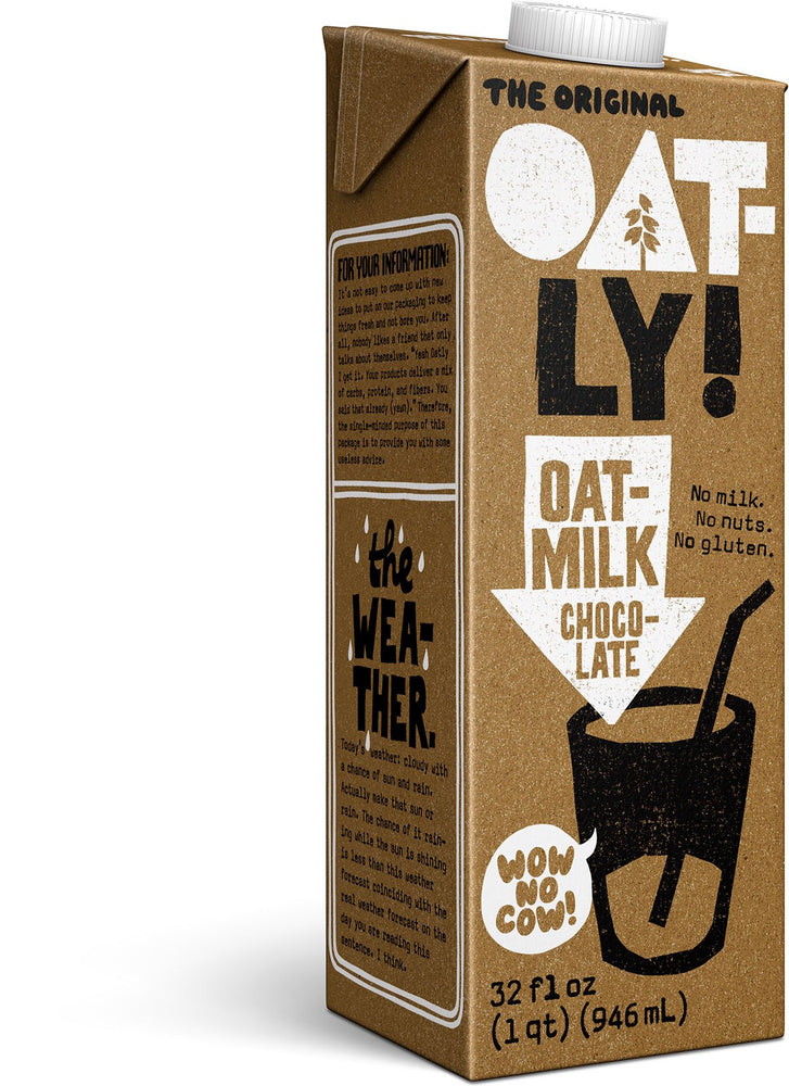 Oatly Oat Milk - Chocolate (Various Sizes)