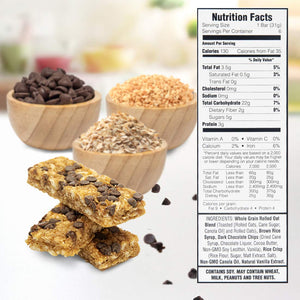 Load image into Gallery viewer, Chewy Chocolate Chip Granola Bars (6 Pack)