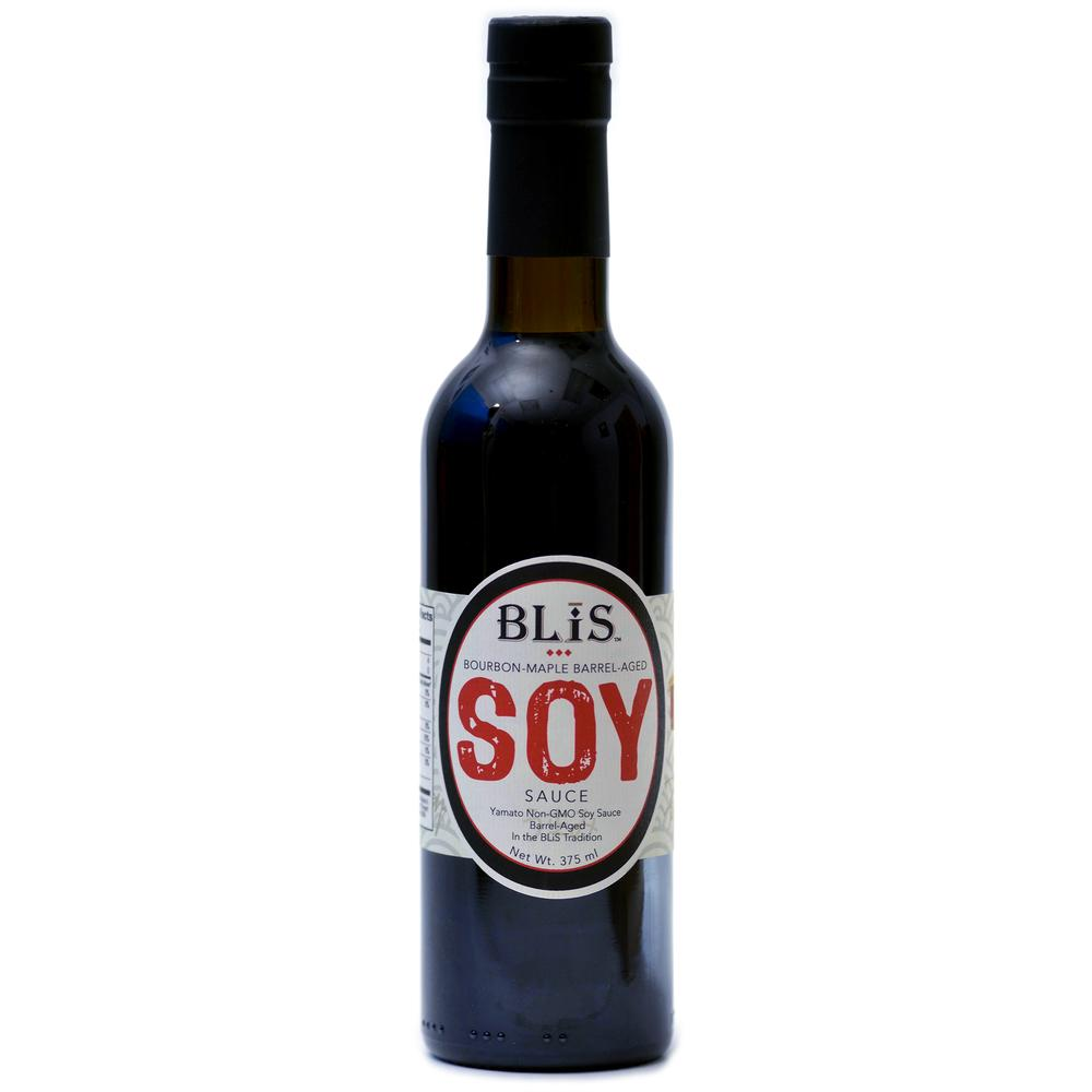 Bourbon Maple Barrel-Aged Soy Sauce