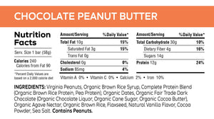 Load image into Gallery viewer, Chocolate Peanut Butter Bar - 2.05 oz