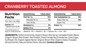 Load image into Gallery viewer, Cranberry Toasted Almond Bar - 2.05 oz