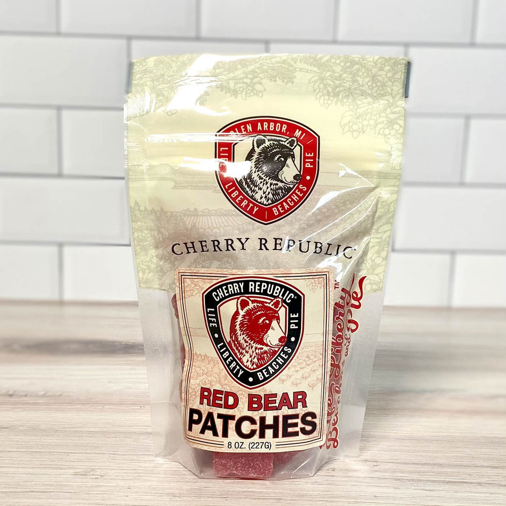 Red Bear Patches - 8oz