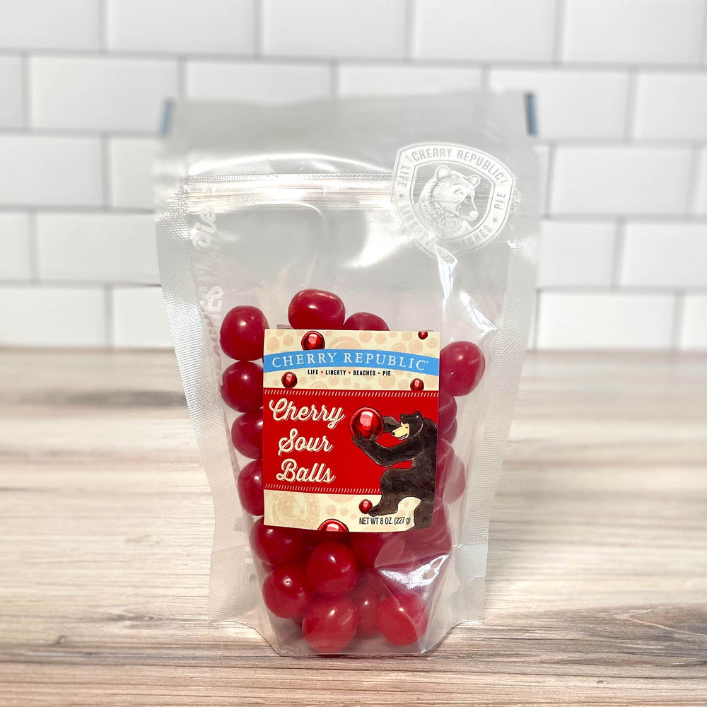 Sour Cherry Balls - 8oz