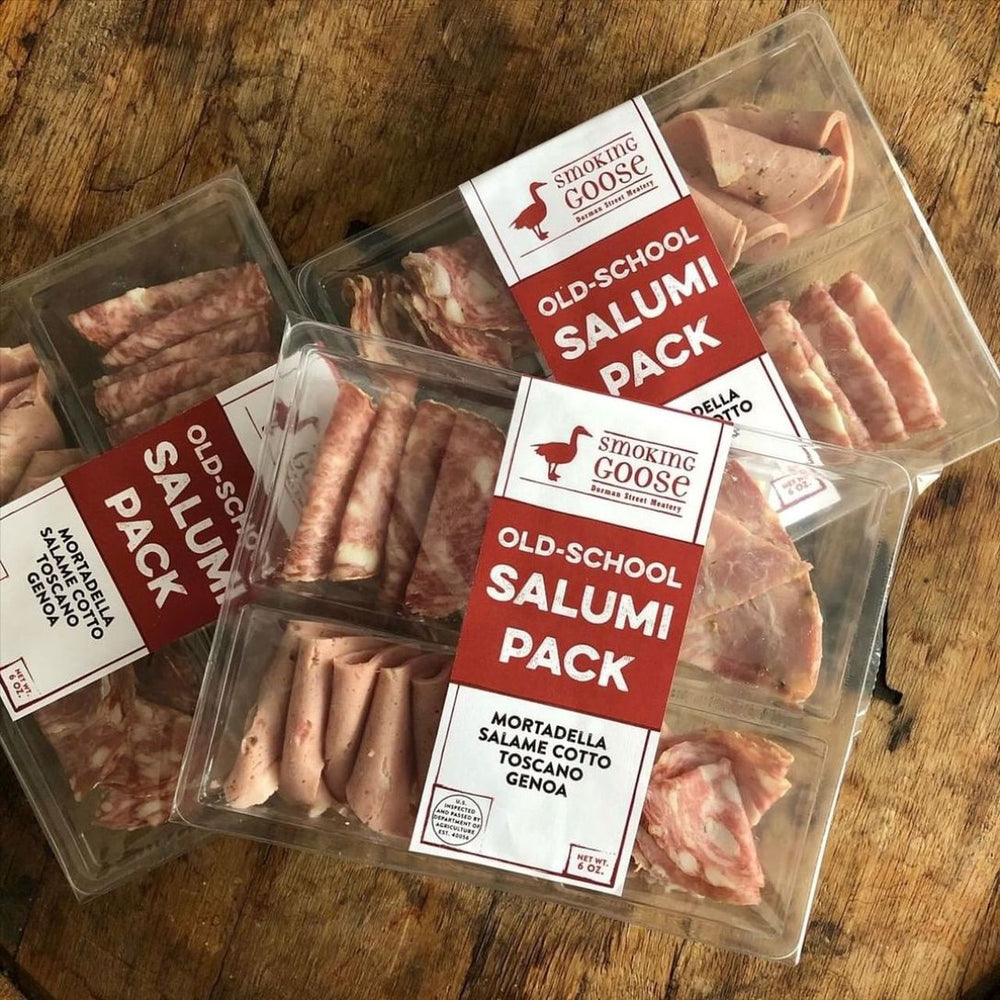 Old School Salumi, Snack Pack (6oz)