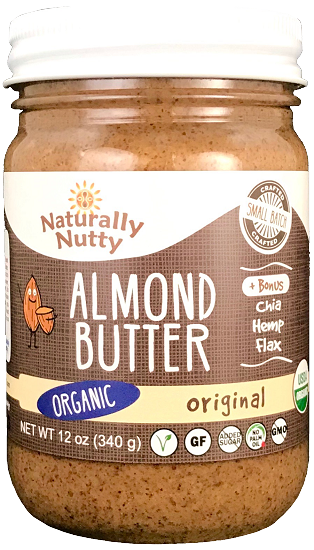 Load image into Gallery viewer, Organic Almond Butter (12 oz)
