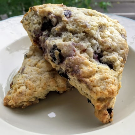 Lemon Blueberry Scones - Each