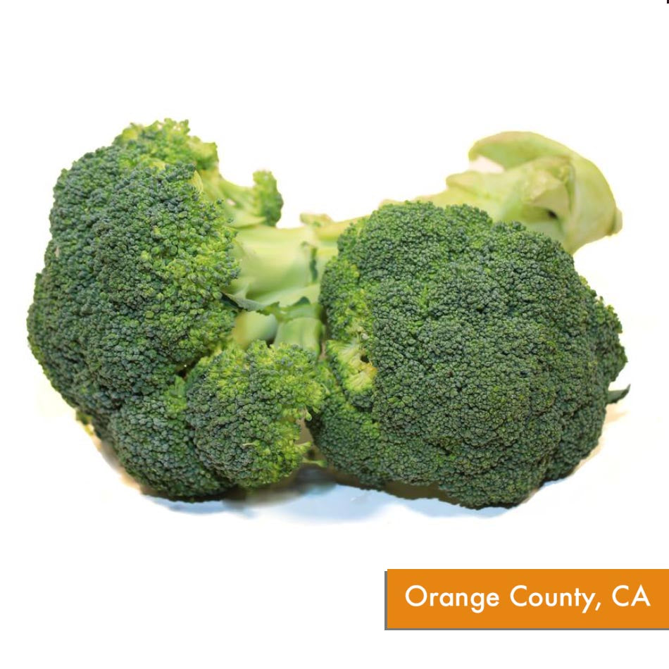 Organic Broccoli Crowns (~1 lb)