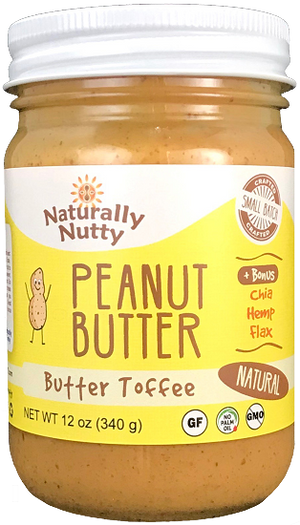 Load image into Gallery viewer, Organic Butter Toffee Peanut Butter (12 oz)