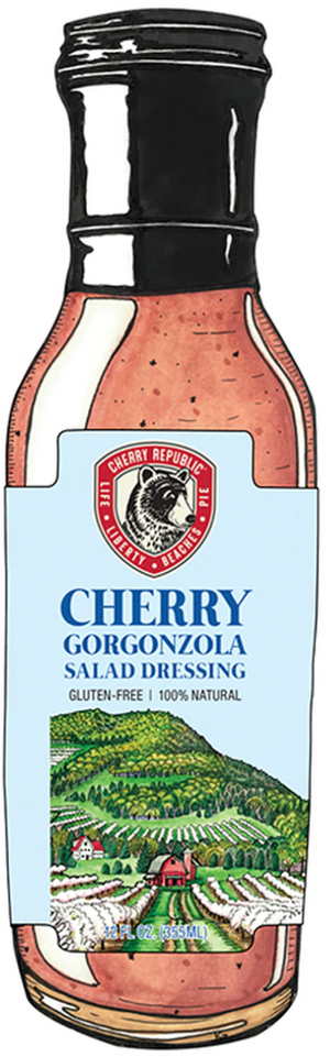 Load image into Gallery viewer, Cherry Gorgonzola Salad Dressing - 12 oz