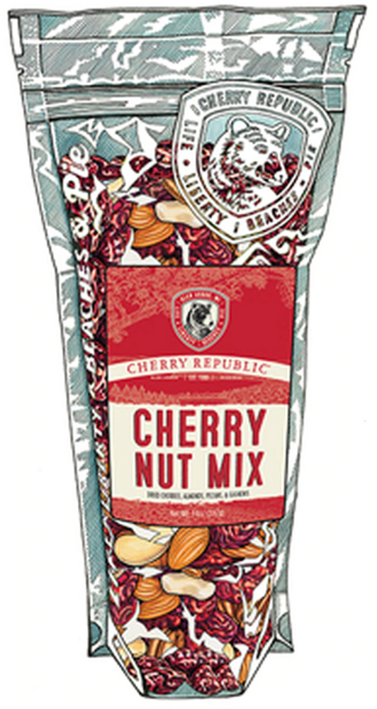 Cherry Nut Mix - 8 oz