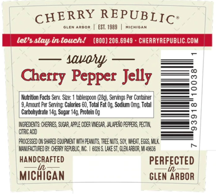 Load image into Gallery viewer, Cherry Pepper Jelly - 8.5 oz
