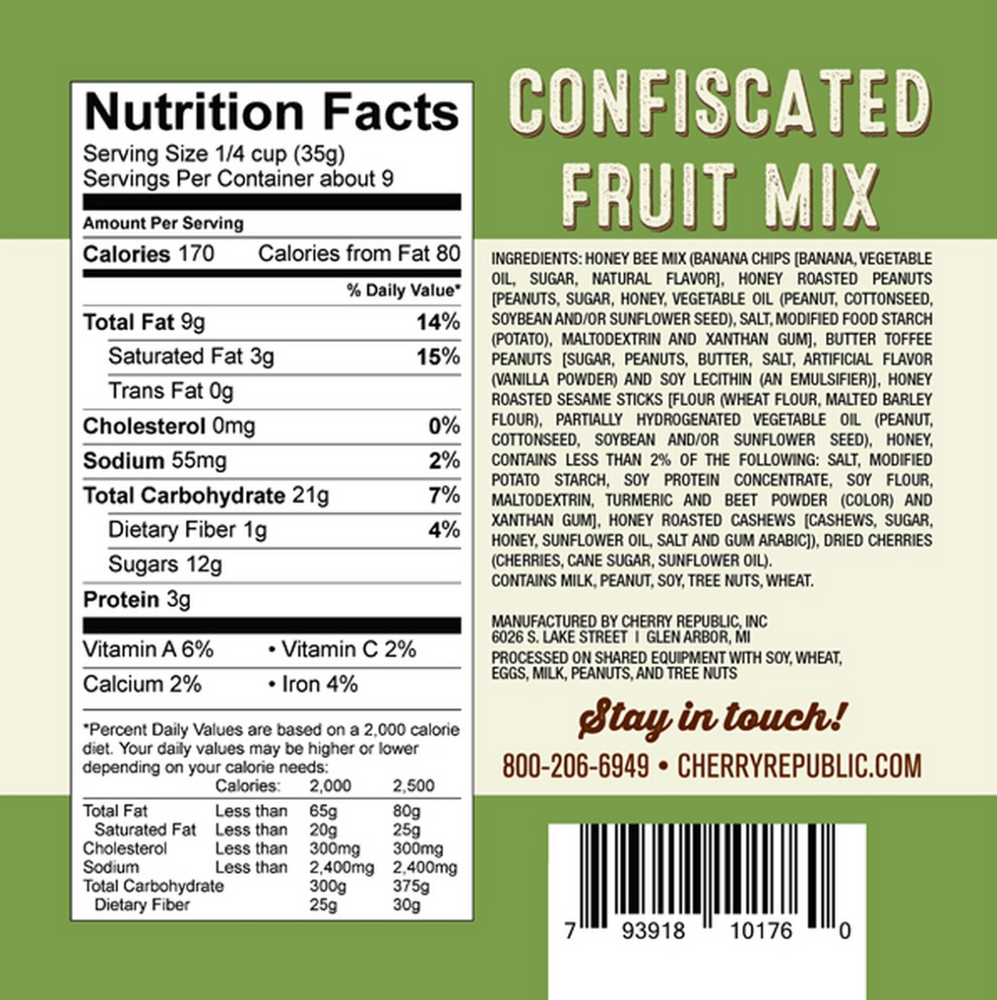 Load image into Gallery viewer, Confiscated Fruit Mix - 12 oz