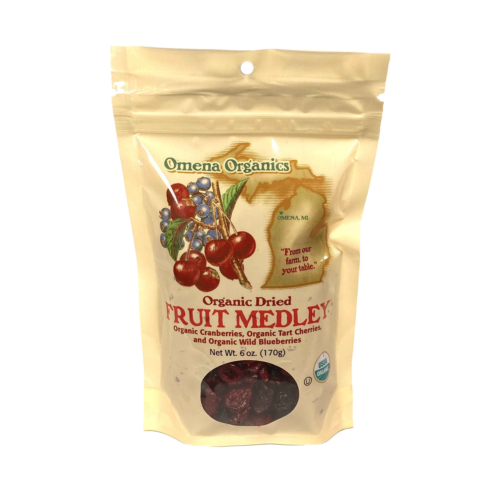 Organic Dried Fruit Medley