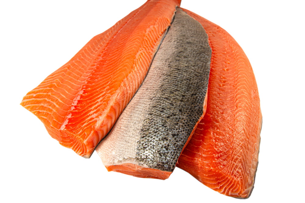 Chinook Salmon Fillet, Wild Caught (Frozen)