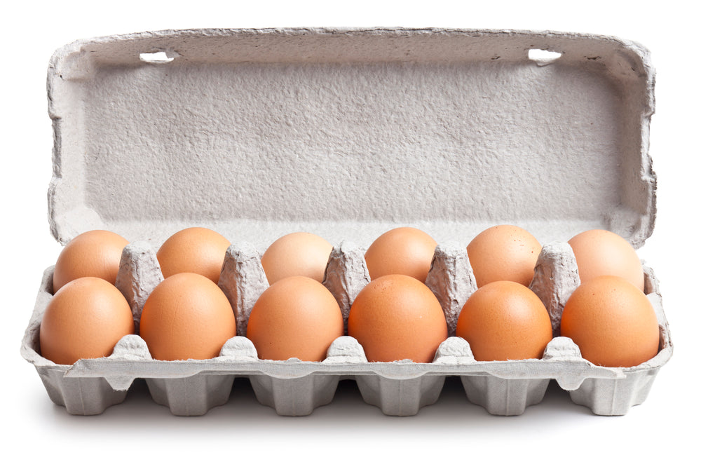Free Range Chicken Eggs, Brown (Dozen)