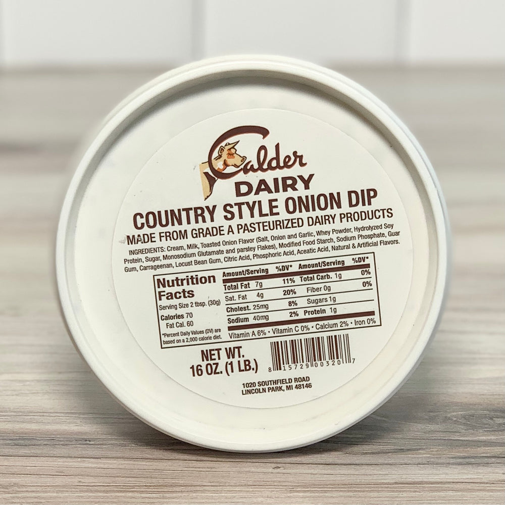 Country-Style Onion Dip (1 lb)