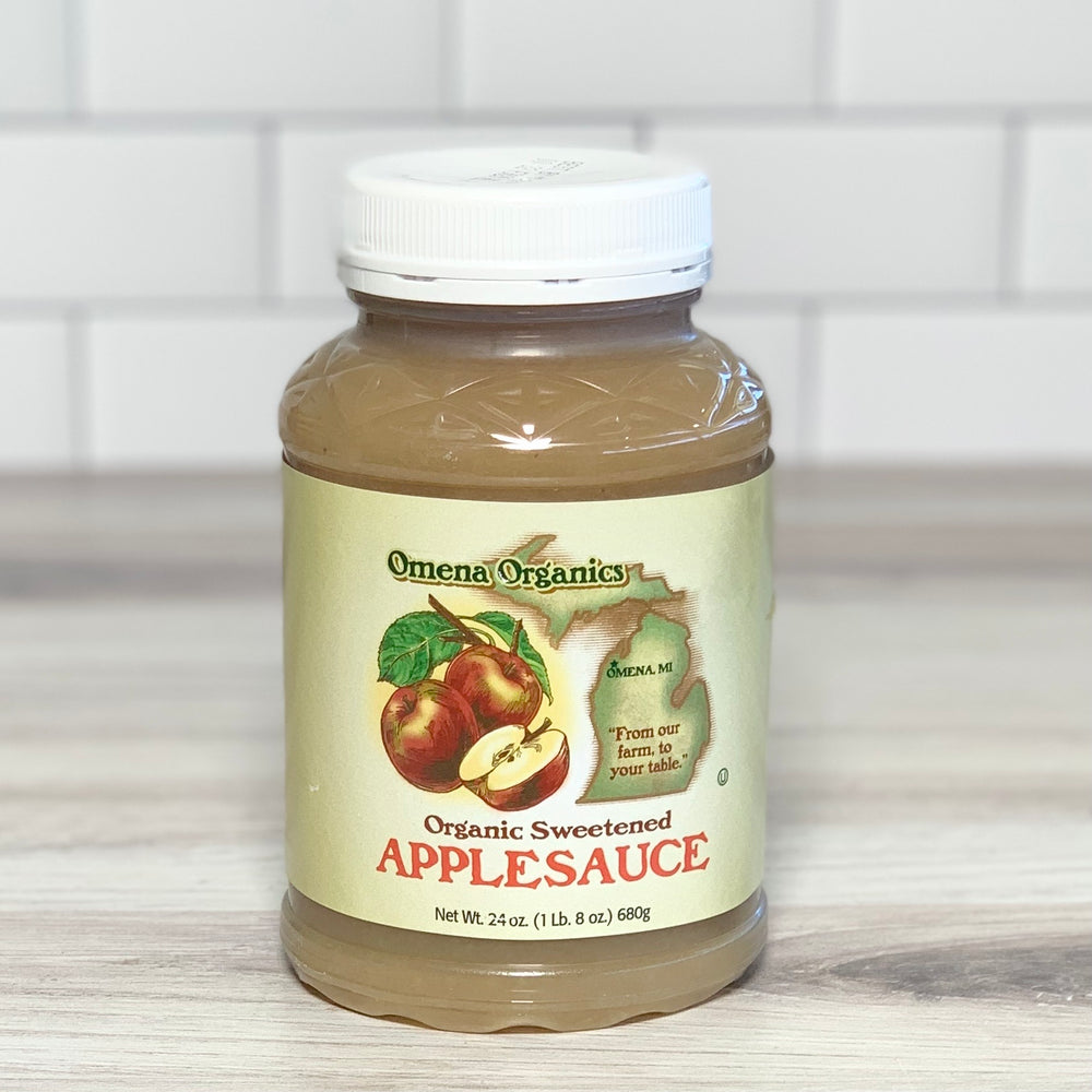 Load image into Gallery viewer, Organic Apple Sauce, Sweetened (24 oz)