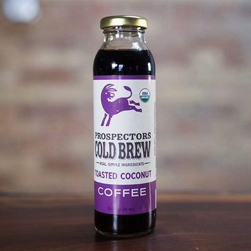 Organic Toasted Coconut Cold Brew Coffee (10.5 oz)