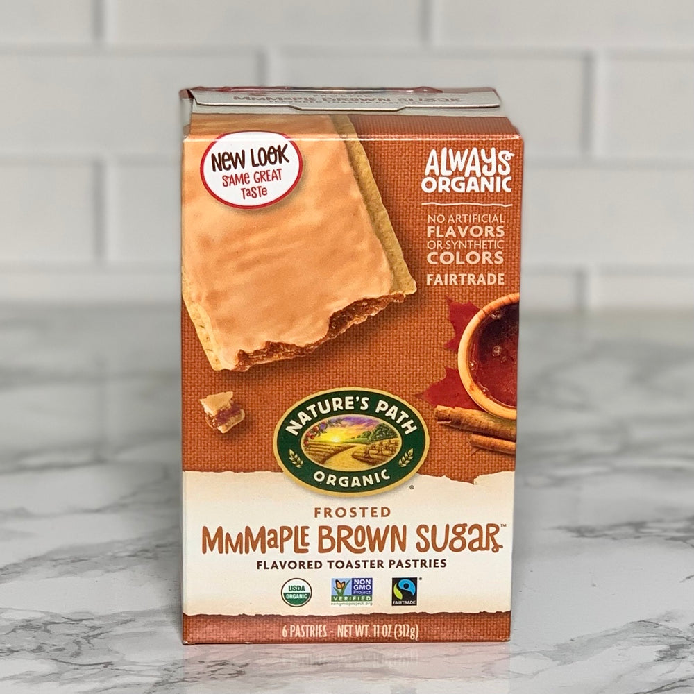 Organic Maple Brown Sugar Toaster Pastries (6 Pastries, 11 oz)