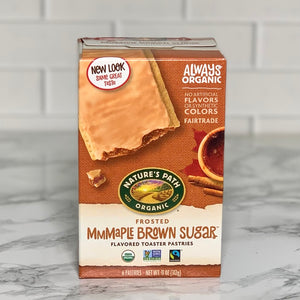 Load image into Gallery viewer, Organic Maple Brown Sugar Toaster Pastries (6 Pastries, 11 oz)