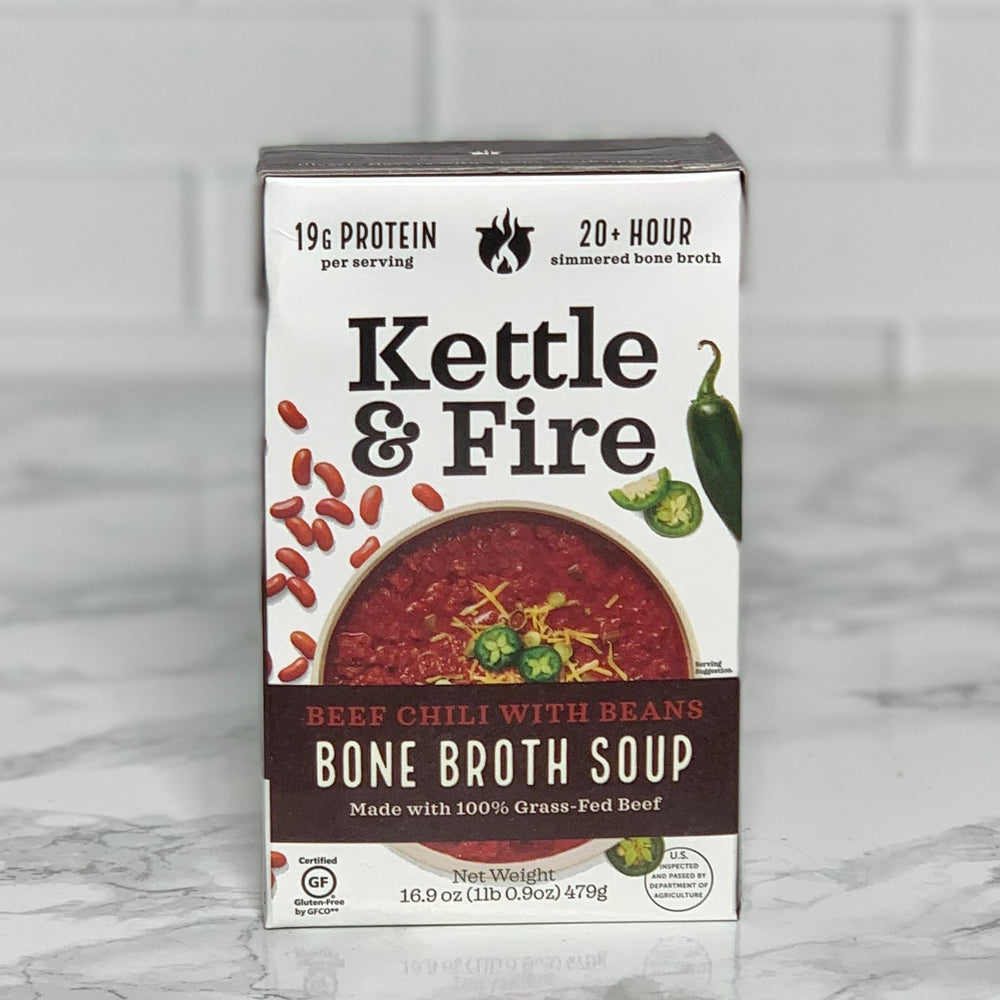 Beef Chili Bone Broth Soup (16.9 oz)
