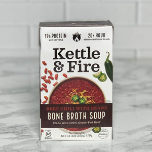 Load image into Gallery viewer, Beef Chili Bone Broth Soup (16.9 oz)