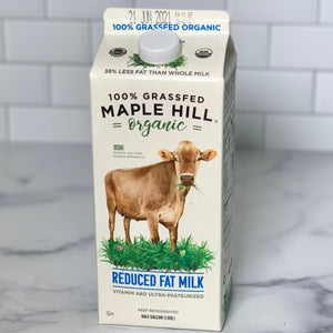 Load image into Gallery viewer, Organic Grassfed 2% Milk (1/2 Gallon)