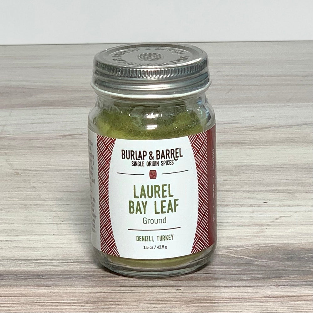 Ground Laurel Bay Leaves (1.5 oz)