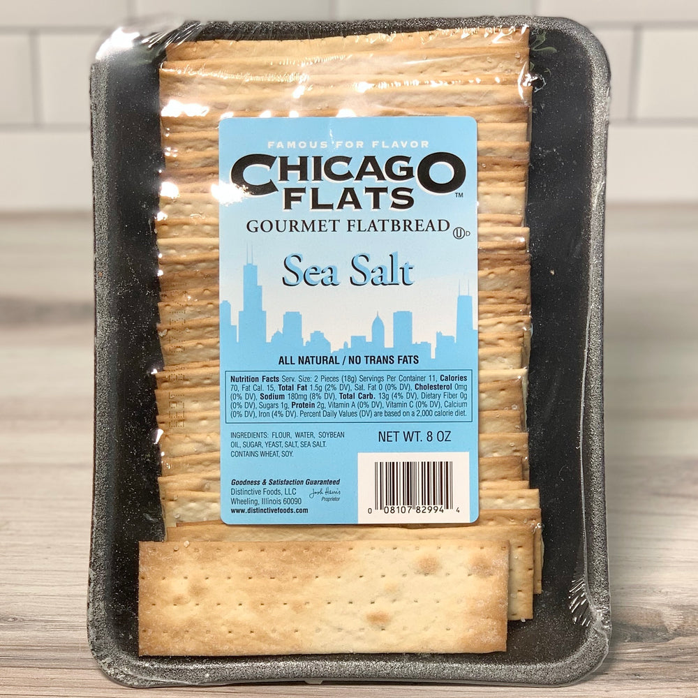 Gourmet Sea Salt Flatbread Crackers (8 oz)