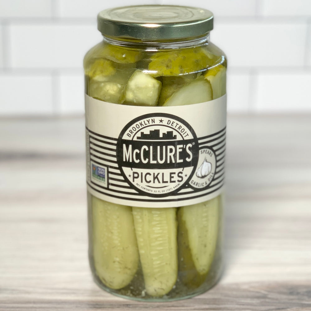 Garlic & Dill Pickle Spears