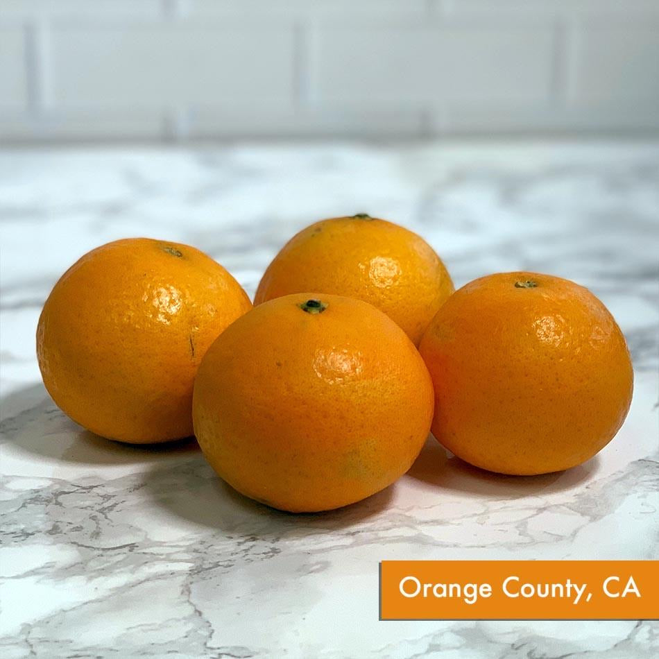 Organic Tangelo Tangerine (Bunch of 3, ~1 lb)