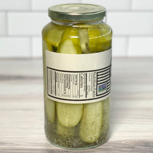 Load image into Gallery viewer, Garlic & Dill Pickle Spears