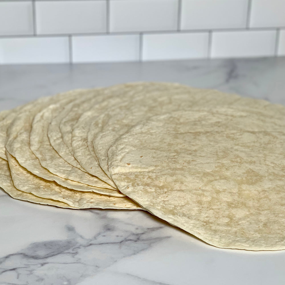 "12"" Flour Tortillas (10 pack)"