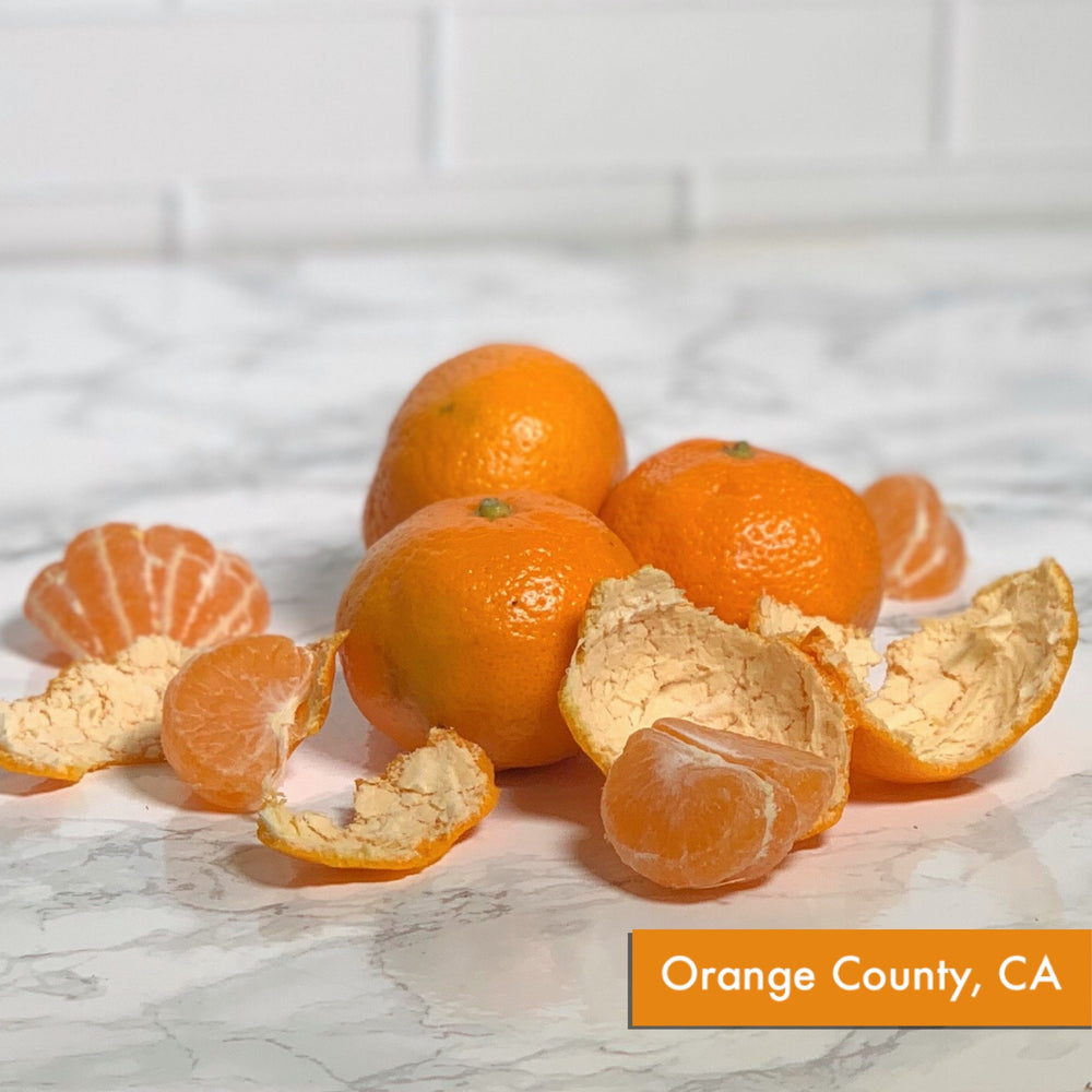 Organic Satsuma Mandarin Orange (Bunch of 5, ~1 lb)