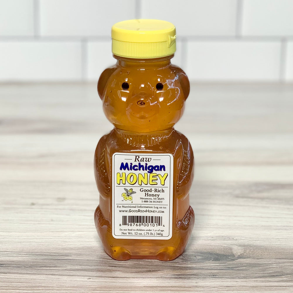 Raw Honey (12 oz)