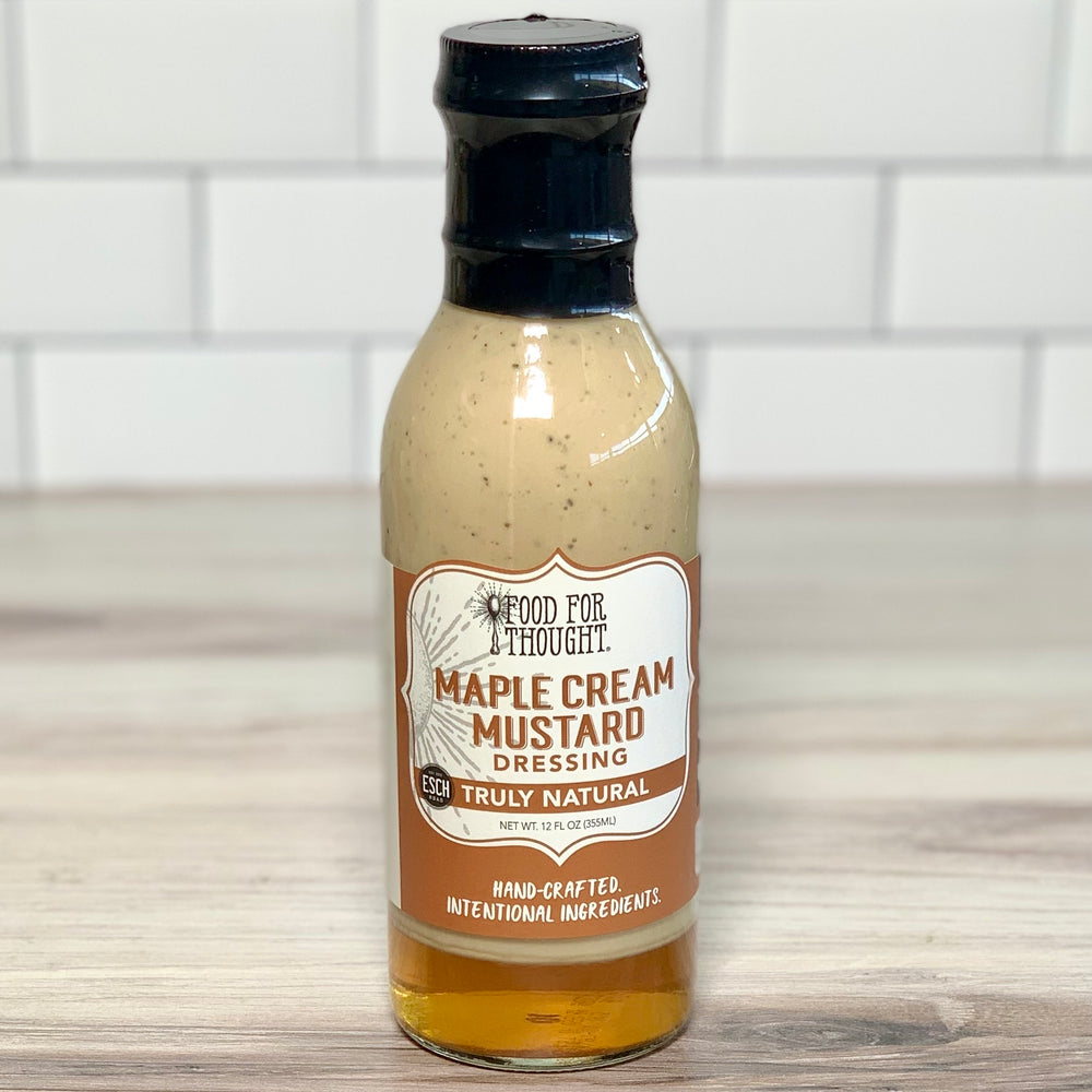 Load image into Gallery viewer, Maple Cream Mustard Dressing (12 oz)