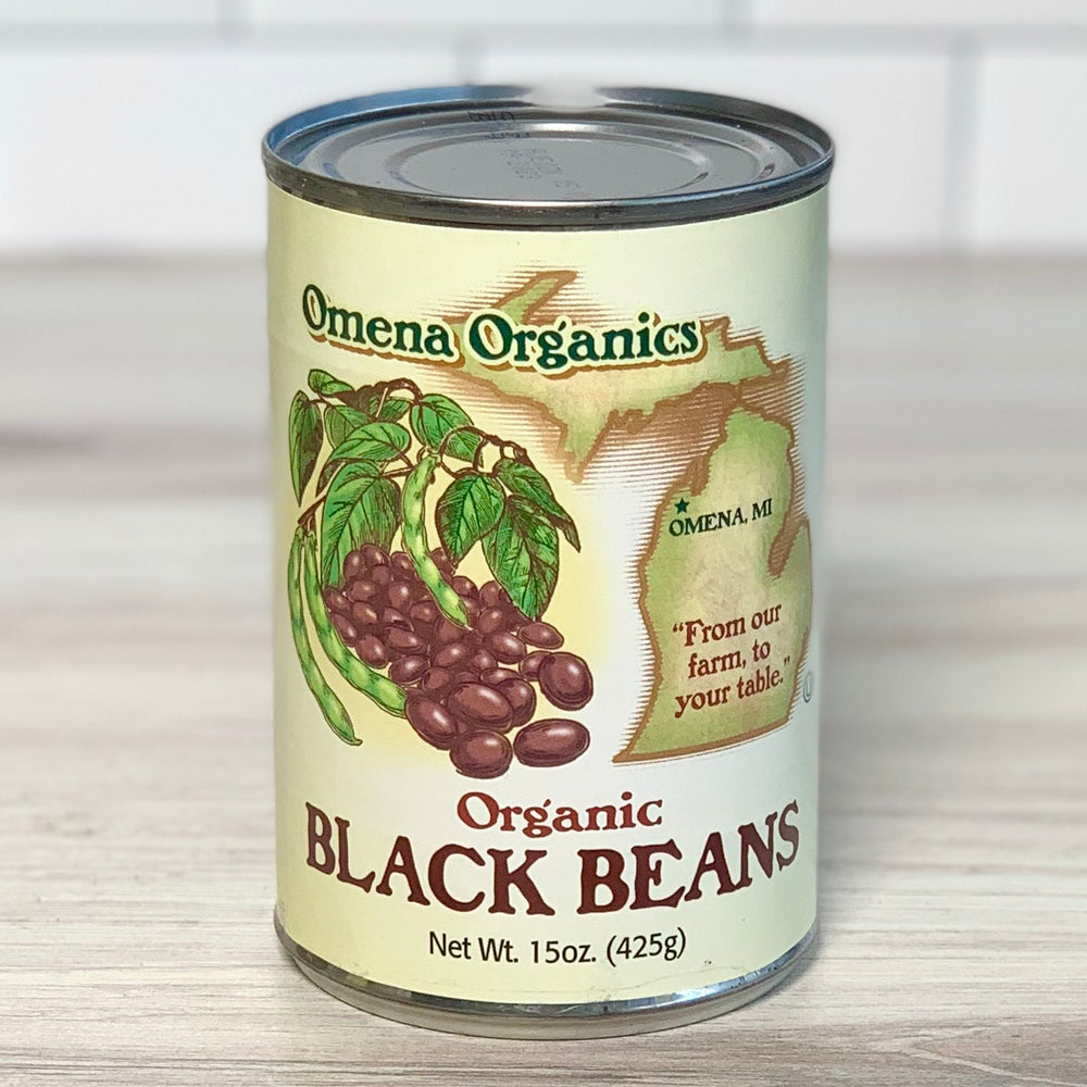 Organic Canned Black Beans